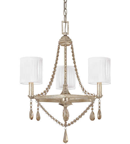 Winter Gold Steel Chandeliers