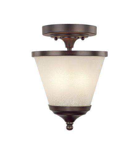 Capital Lighting Stanton 2 Light Foyer in Burnished Bronze with Mist Scavo Glass 4032BB-208 photo