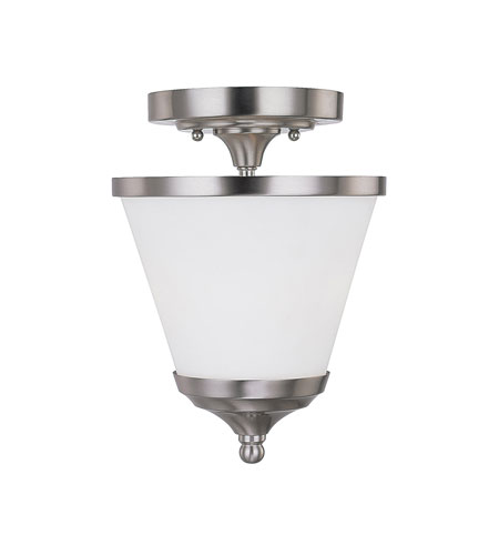 Capital Lighting Stanton 2 Light Foyer in Brushed Nickel with Mist Scavo Glass 4032BN-211 photo