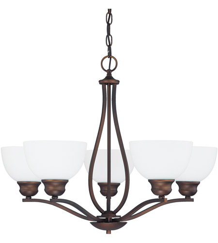 Capital Lighting Stanton 5 Light Chandelier in Burnished Bronze 4035BB-212 photo
