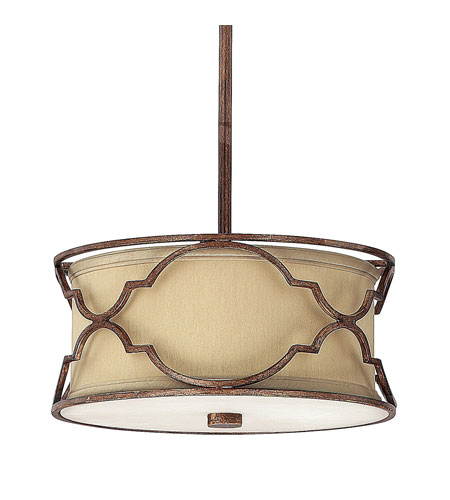 Capital Lighting Luciana 2 Light Pendant in Bronze with Gold Dust 4050BD-531 photo