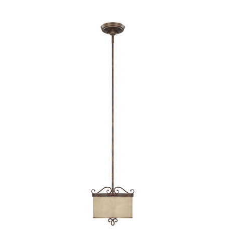 Capital Lighting Reserve 2 Light Pendant in Rustic 4160RT-499 photo