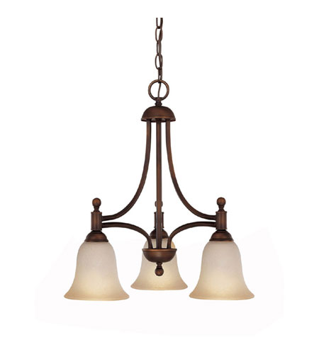 Capital Lighting 4354BB-252-GU Metropolitan 3 Light 16 inch Burnished Bronze Chandelier Ceiling Light photo