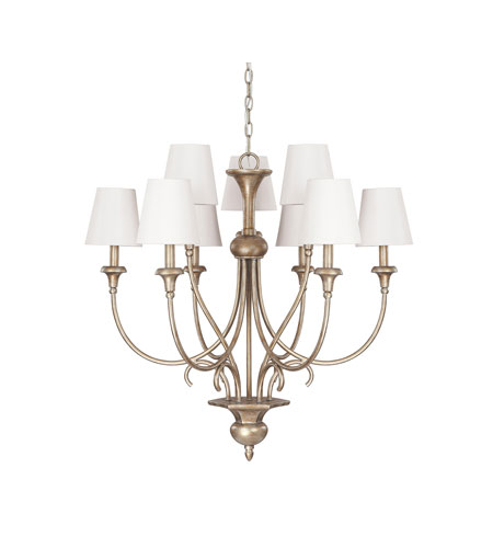 Capital Lighting Ansley 9 Light Chandelier in Sable 4669SA-558 photo