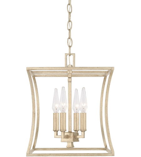 Winter Gold Foyer Pendants