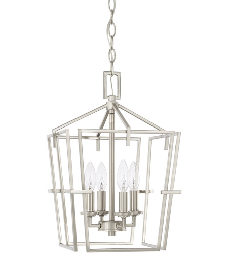 Capital Lighting 522142BN HomePlace 4 Light 11 Inch Brushed Nickel Foyer  Light Ceiling Light