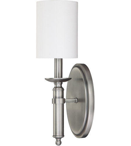 Capital Lighting 6301AN-489 Covington 1 Light 5 inch Antique Nickel Sconce Wall Light photo