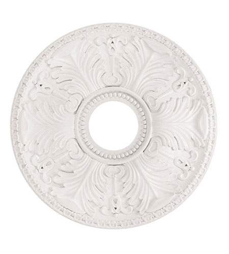 Capital Lighting Windsor Medallion in White 7840WH photo