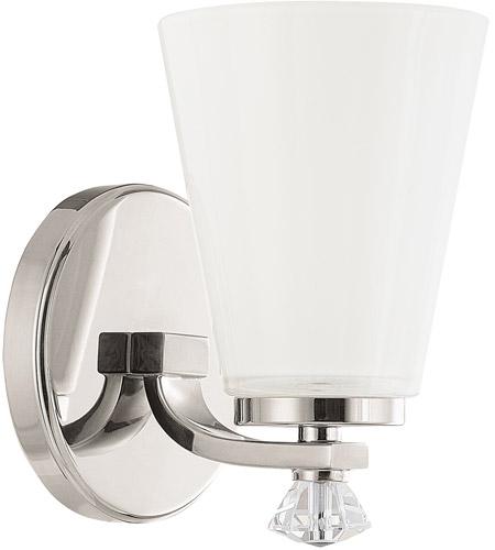 Capital Lighting 8021pn 127 Alisa 1 Light 5 Inch Polished Nickel Sconce Wall