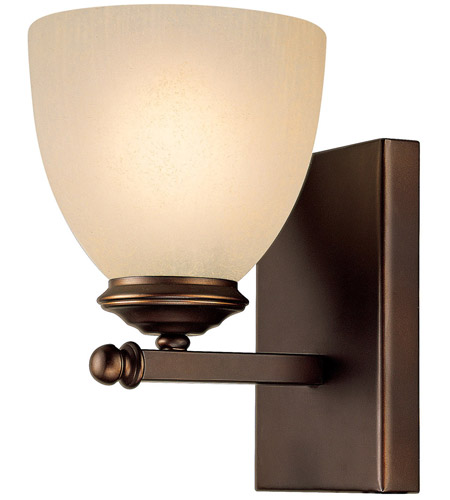 Capital Lighting 8401BB-201 Chapman 1 Light 5 inch Burnished Bronze Sconce Wall Light in Mist Scavo photo