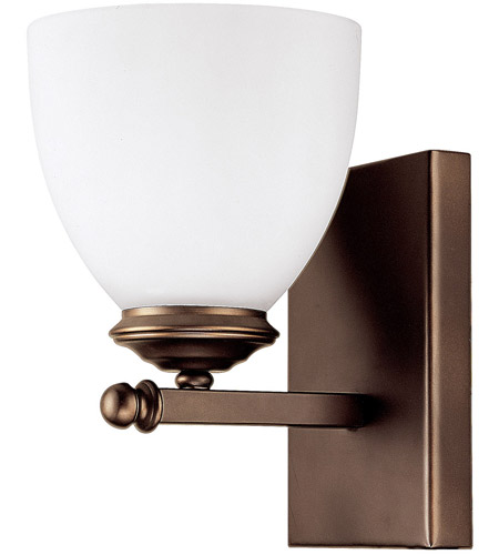 Capital Lighting 8401BB-202 Chapman 1 Light 5 inch Burnished Bronze Sconce Wall Light in Soft White photo