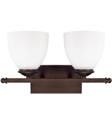Capital Lighting 8402BB-202 Chapman 2 Light 16 inch Burnished Bronze Vanity Wall Light in Soft White photo