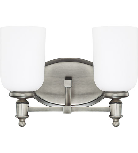 Capital Lighting 8442AN-102 Covington 2 Light 13 inch Antique Nickel Vanity Wall Light photo