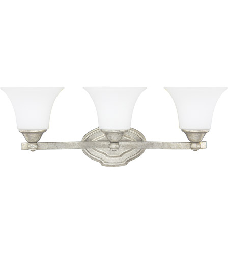 Capital Lighting 8523AS-114 Blakely 3 Light 24 inch Antique Silver Vanity Wall Light in Soft White photo thumbnail