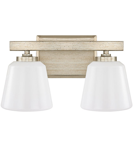 Winter Gold Vanity Lights : Berkeley 2 Light 14 inch Winter Gold Vanity Wall Light