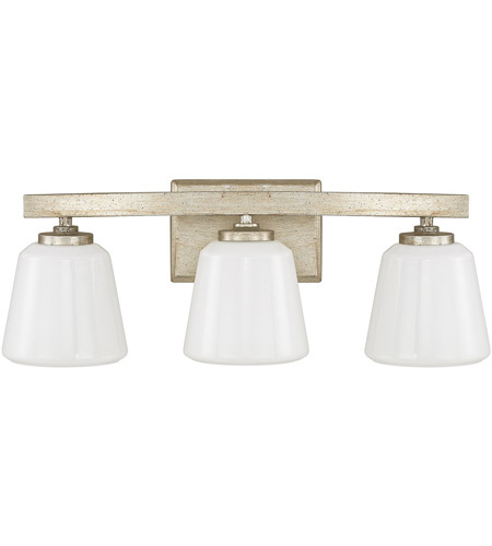 Winter Gold Vanity Lights : Berkeley 3 Light 21 inch Winter Gold Vanity Wall Light