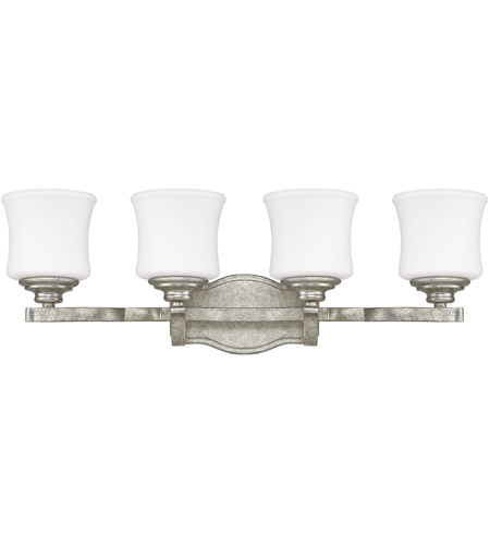 Capital Lighting 8554AS-299 Blair 4 Light 27 inch Antique Silver Vanity Wall Light photo thumbnail