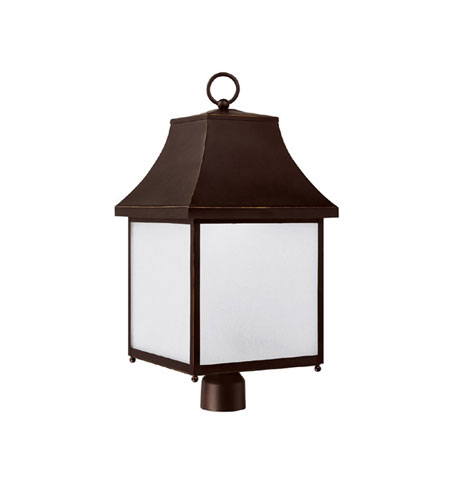 Capital Lighting 9066NB-GD Collins Hill 1 Light 26 inch New Bronze Outdoor Post Lantern photo
