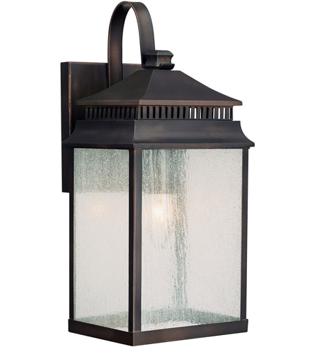 Capital Lighting 9111OB Sutter Creek 1 Light 15 inch Old Bronze Outdoor Wall Lantern photo