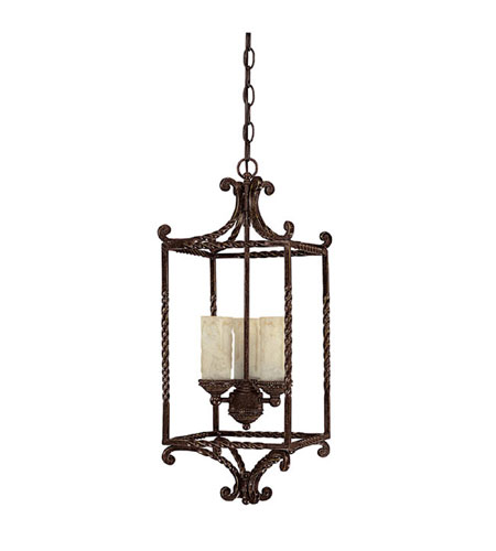 Capital Lighting 9223WB-279 Highlands 3 Light 13 inch Weather Brown Chandelier Ceiling Light photo