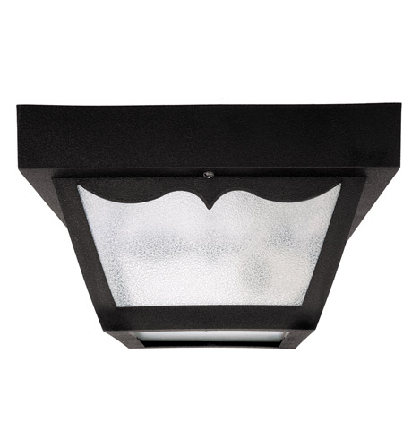 Capital Lighting 9237BK Signature 1 Light 8 inch Black Outdoor Ceiling photo