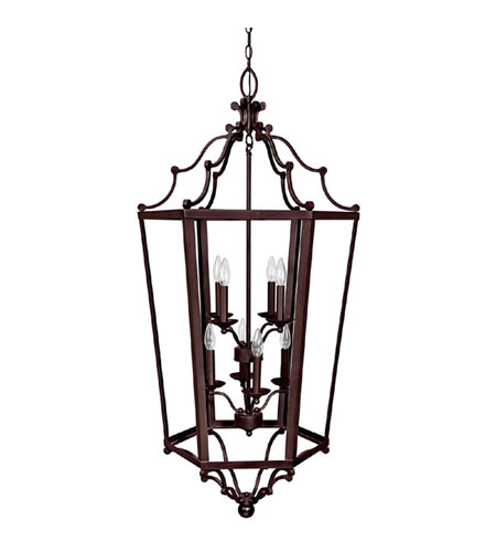 Capital Lighting Signature 8 Light Foyer in Mediterranean Bronze 9276MBZ photo