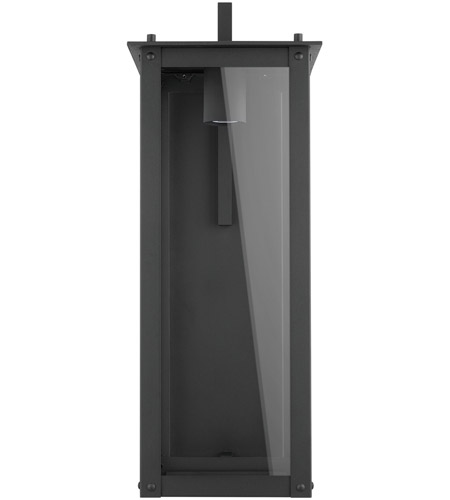 Hunt Led 29 Inch Black Outdoor Wall Lantern