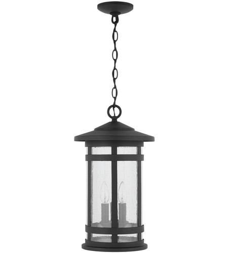 Capital Lighting 935532bk Mission Hills 3 Light 11 Inch Black Outdoor Hanging Lantern