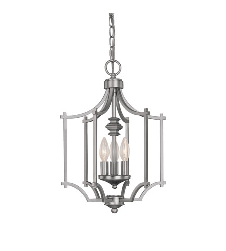 Capital Lighting Towne & Country 3 Light Foyer in Matte Nickel 9370MN photo