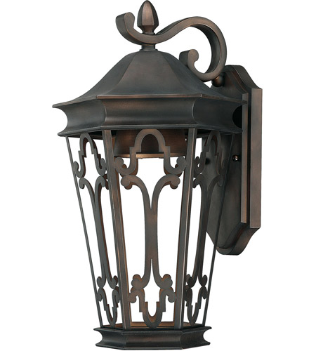 Capital Lighting Townsende 1 Light Outdoor Wall Lantern in Old Bronze 9443OB photo