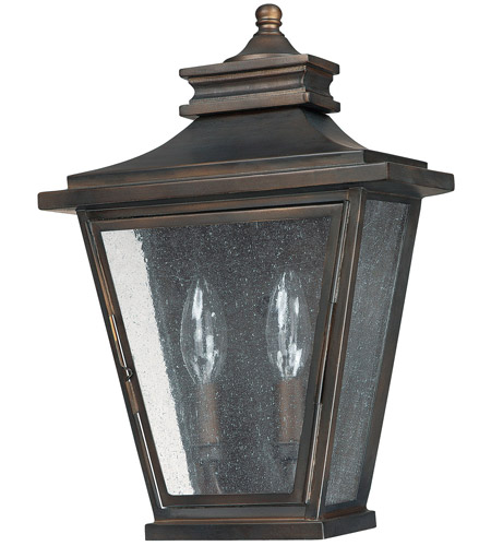 Capital Lighting 9460OB Astor 2 Light 14 inch Old Bronze Outdoor Wall Lantern photo
