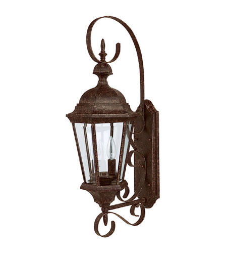 Capital Lighting 9722TS Carriage House 2 Light Tortoise Outdoor Wall Lantern photo