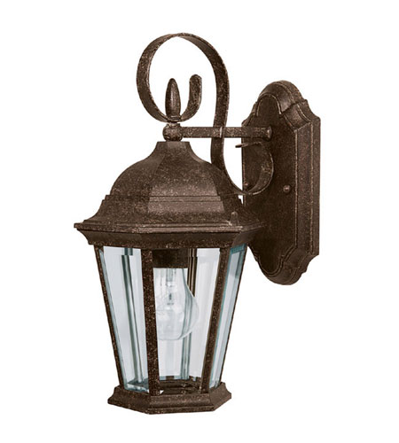 Capital Lighting 9726TS Carriage House 1 Light Tortoise Outdoor Wall Lantern photo