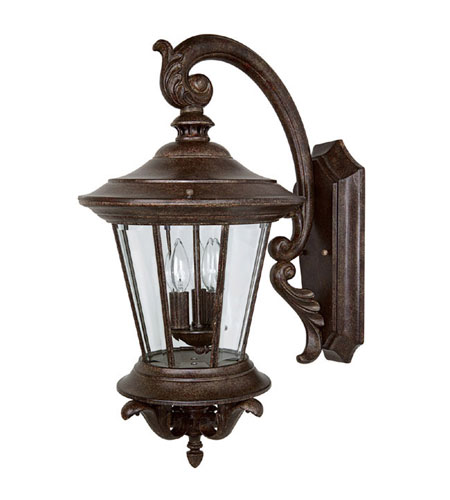 Capital Lighting 9753TS Madison 3 Light Tortoise Outdoor Wall Lantern photo