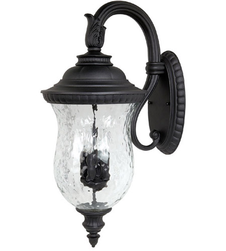 Capital Lighting 9784BK Ashford 4 Light Black Outdoor Wall Lantern photo