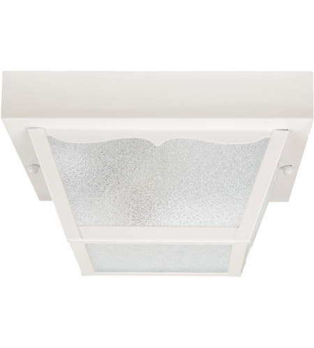 Capital Lighting 9939WH Signature 2 Light 10 inch White Outdoor Ceiling photo