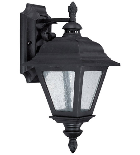 Capital Lighting 9961BK Brookwood 1 Light Black Outdoor Wall Lantern photo
