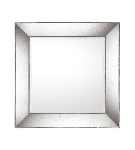 Capital Lighting Signature Mirror in Aged Silver with Aniqued Frame M323272 photo