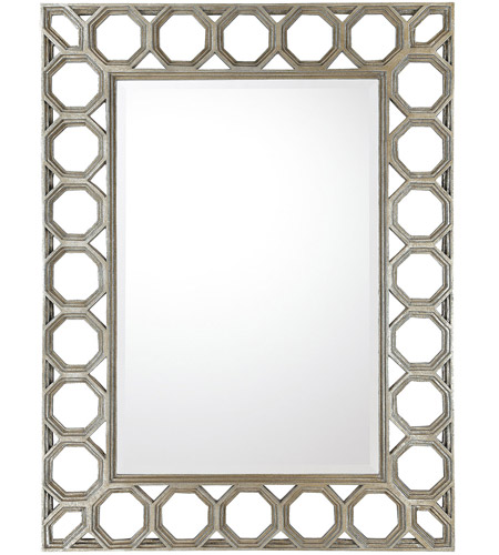 Capital Lighting M352471 Signature 49 X 37 inch Silver and Gold Undertones Wall Mirror photo