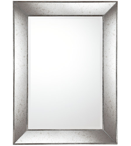 Capital Lighting Signature Mirror in Aged Silver with Aniqued Frame M362470 photo