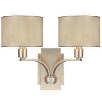 Luna 2 Light 17 inch Winter Gold Sconce Wall Light