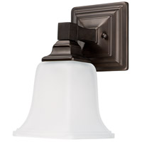 Signature 1 Light 5 inch Burnished Bronze Vanity Wall Light