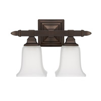 Capital Lighting Signature 2 Light Vanity in Burnished Bronze 1062BB-142
