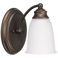 Capital Lighting Signature 1 Light Sconce in Burnished Bronze 1081BB-132