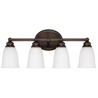 Capital Lighting Signature 4 Light Vanity in Burnished Bronze 1084BB-132