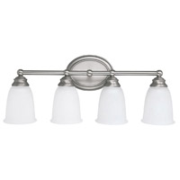 Signature 4 Light 23 inch Matte Nickel Vanity Wall Light