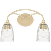 Seaton 2 Light 17 inch Soft Gold Vanity Wall Light