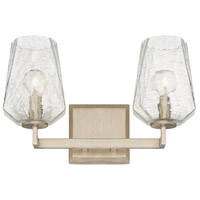 Arden 2 Light 15 inch Brushed Silver Vanity Wall Light