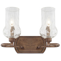 Rowan 2 Light 14 inch Rustic Vanity Wall Light