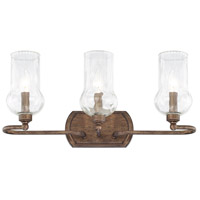 Rowan 3 Light 22 inch Rustic Vanity Wall Light